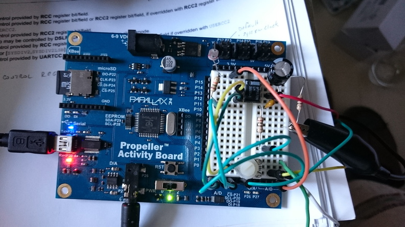 Parallax Propeller Prototyping